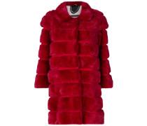 Mantel mit Nerzfellbesatz