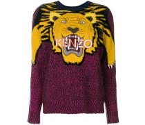 'Tiger' Intarsien-Pullover