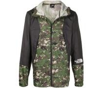 Wasserdichte Jacke mit Camouflage-Print