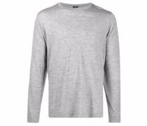 Meliertes Jersey-T-Shirt
