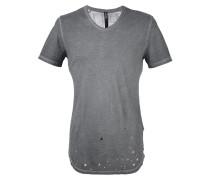T-Shirt mit Netzstoff