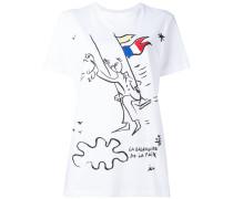 - T-Shirt mit Print - women - Baumwolle - 40