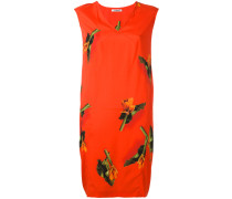 Kleid mit Blatt-Print - women - Seide/Elastan