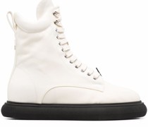 Selene lace-up chunky-sole boots