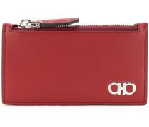double gancio zipped wallet
