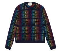 "Rainbow "" Hollywood"" sweater"