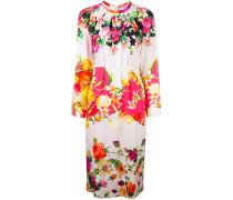 Florales Kleid mit langen Ärmeln