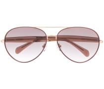 x Linda Farrow 'Primrose' Pilotenbrille