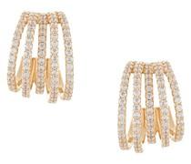 Ear Cuffs mit Kristallverzierungen