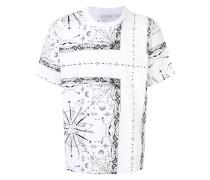 T-Shirt mit Print-Mix
