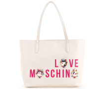 Shopper mit Cartoon-Print - women - Polyurethan