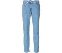Jeans mit goldfarbenen Nieten