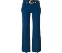 Cropped-Hose mit GG-Verschluss
