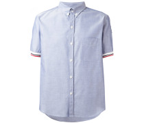 tri-colour trim short sleeve shirt