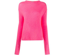 Texturierter Pullover