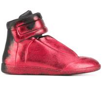 glitter gradient sneakers - men - Leder/rubber