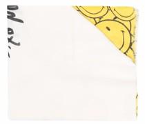 Schal mit Smiley-Print
