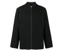 Klassische Jacke mit Nerzbesatz