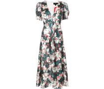 Lea V-neck midi dress