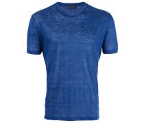 - Leinen-T-Shirt mit Rundhalsausschnitt - men