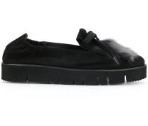 Loafer mit Fuchspelzbesatz