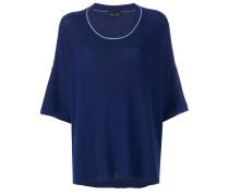 Pullover mit Cropped-Ärmeln - women - Baumwolle