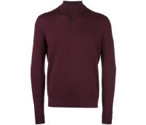 Klassischer Henley-Pullover