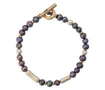 14kt Gelbgold-Armband mit Perlen