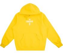 Hoodie mit Kreuz-Logo