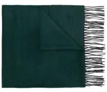 contrast fringe scarf