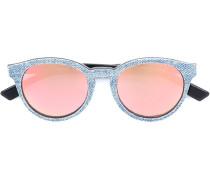 Sonnenbrille mit Jeanseffekt