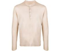 Klassisches Henley-Hemd