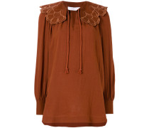rope tied blouse