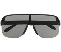 Sonnenbrille im Visierdesign