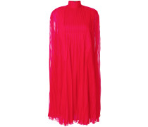 plisse long dress