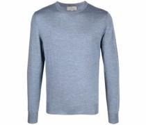 Merino-Sweatshirt mit Rundhalsausschnitt