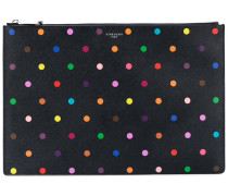 Iconic print pouch - women