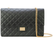 quilted chain strap shoulder bag