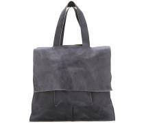 Handtasche mit Klappdeckel - men - Kalbsleder