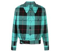 'Civil Uniforms' Jacke mit Schottenkaro