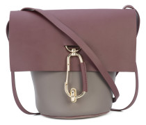 foldover bucket bag
