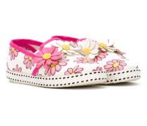 Slipper mit floraler Verzierung - kids