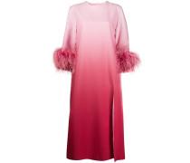 Kleid mit Federn