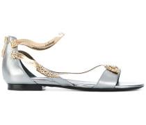 Sandalen mit SchlangenMotiv