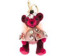 embellished bear keyring