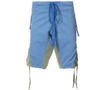 Shorts mit Einsätzen