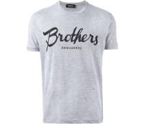 """T-Shirt mit """"Brothers""""-Print"""