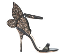Sandalen mit Schmetterling-Applikation