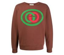 Sweatshirt mit GG-Print
