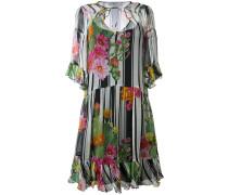 Florales Seidenkleid - women - Seide/Polyester